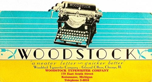 Image result for woodstock typewriter co, chicago il